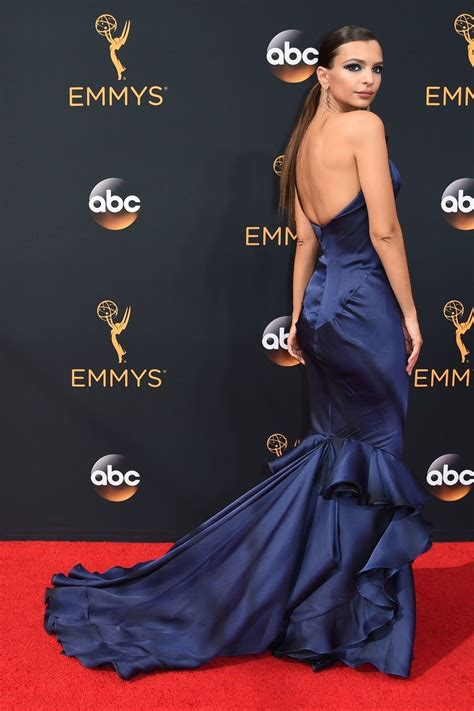 All The Looks At The 2016 Emmy Awards | Strapless dress ...