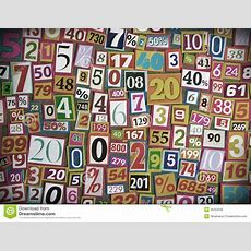 Numbers And Percentages Stock Image Image Of Number 36352639