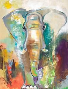 """""""Elephant Dream"""" Contemporary Large Artwork - Contemporary"""