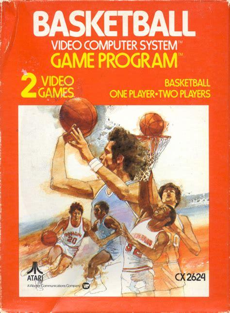 Basketball 1978 Atari 2600 Box Cover Art Mobygames