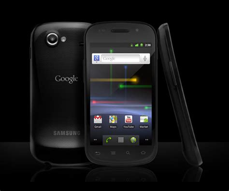 nexus android nexus s android phone thecoolist the modern