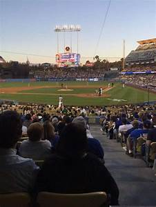 Dodger Stadium Section 5fd Home Of Los Angeles Dodgers