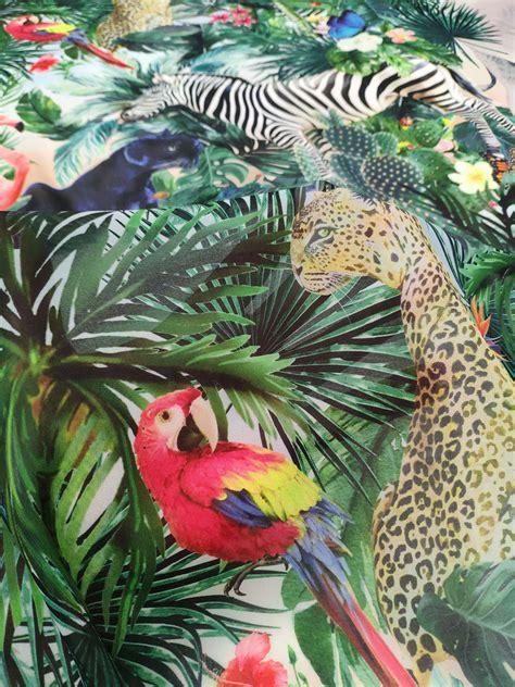 Animal Print chiffon fabric #50021 - Design My Fabric