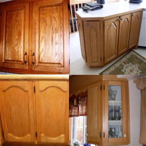 renover cuisine chene armoires de cuisine en chêne nous les remettons a neuf