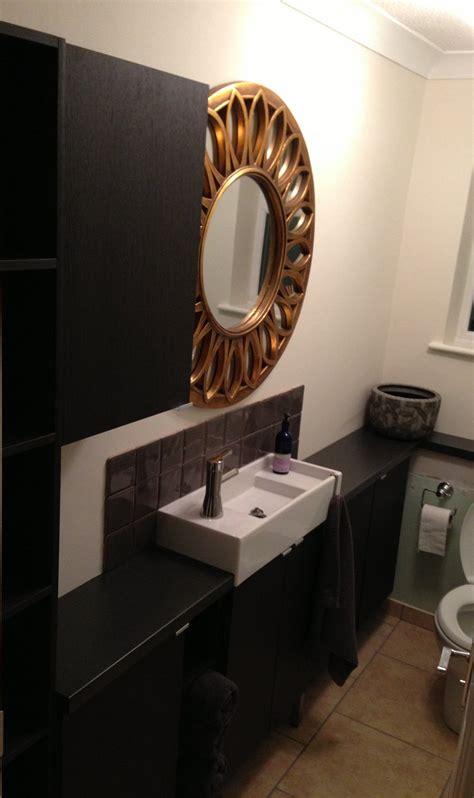 ikea lillangen sink hack narrow bathroom units ikea hackers ikea hackers