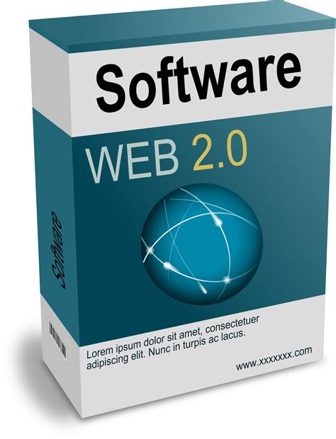 Clip Software Clipart Software Box Web 2 0 Remix