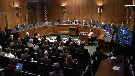 Iowan testifies about intellectual property before Senate