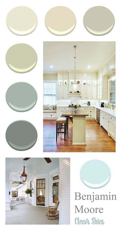 southern home paint color palette modern