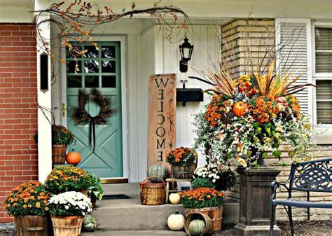 Herbstdeko Für Den Hauseingang  25 Eindrucksvolle Bastelideen