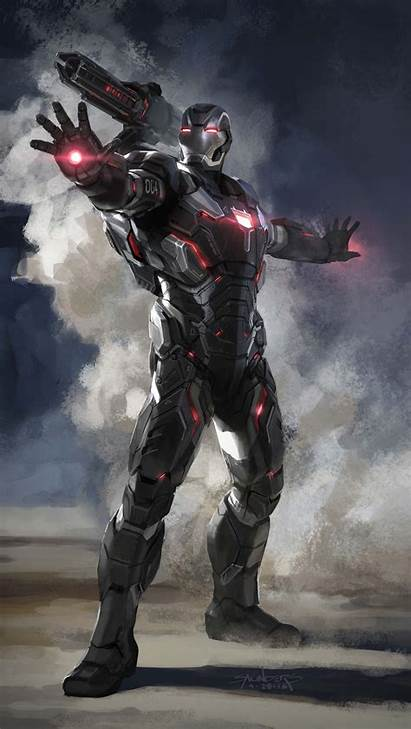 Endgame Avengers War Machine Armor Iphone Iron