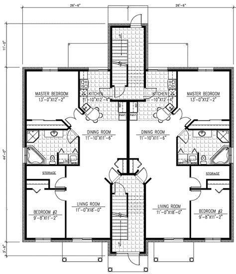 plan pd  plex multi family house plan apartment