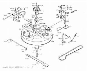 Dixon Zeeter  2003  Parts Diagram For Mower Deck 30 U0026quot