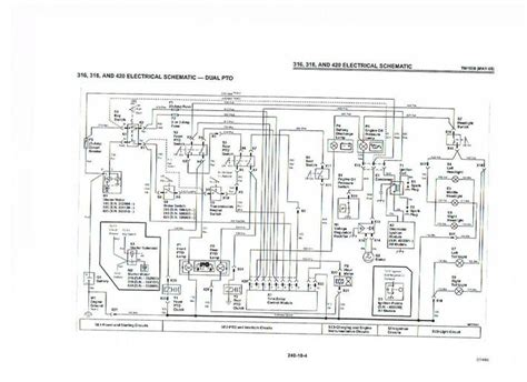 Wiring Diagram For Deere 322 by Anyone A 318 Electric Diagram Deere Tractor