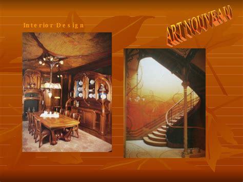 Art Nouveau Interior Design Ppt