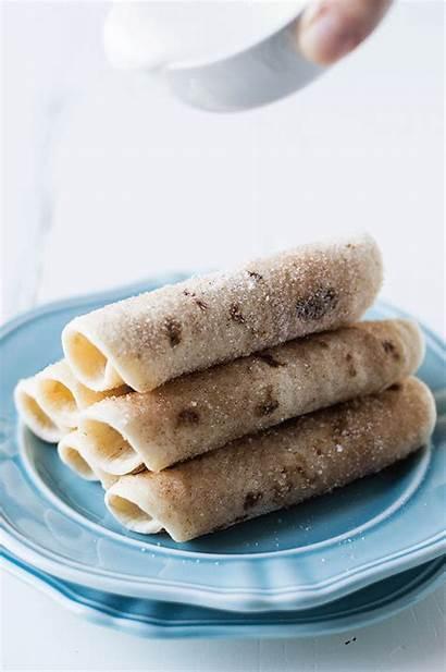Tortilla Cinnamon Dessert Desserts Tortillas Rollups Recipes