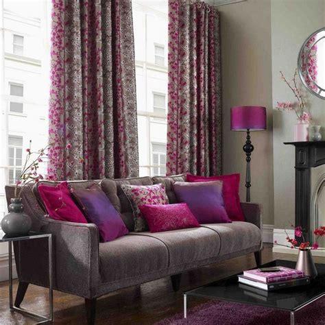 plum sofa decorating ideas fuschia plum and green color scheme google search