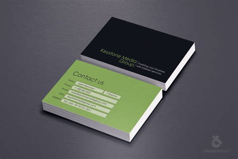 exceptional architect business cards web graphic