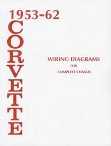 1955 To 1962 Corvette Wiring Diagram 1955 1956 1957 1958