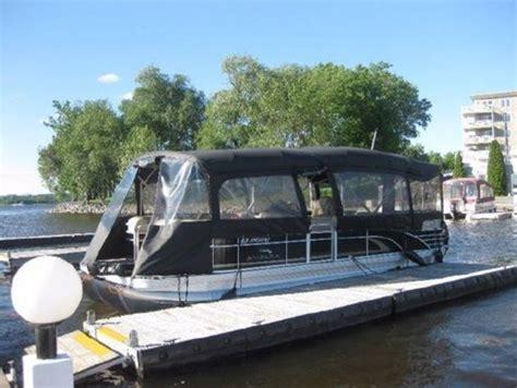 Small Pontoon Boat Ottawa by Pontoon Boats Boatdealers Ca