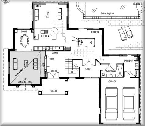 Home Design Blueprints by House Plans Blueprint 5 Bedroom House Plans Blueprints