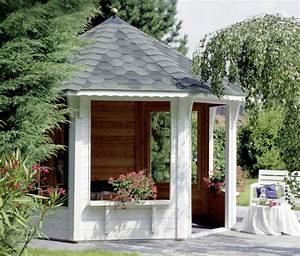 Grill Pavillon Holz : pavillon wolff toscana 3 5 8 eck holz pavillon ~ Whattoseeinmadrid.com Haus und Dekorationen