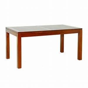 Table A Manger Rallonge : table manger mindi rallonge 160 200 cm meubles ~ Teatrodelosmanantiales.com Idées de Décoration