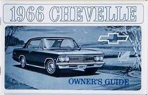 1966 Chevelle Owners    El Camino Owners Manual