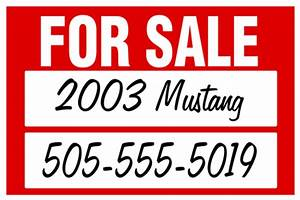 car for sale by owner decal signazon With for sale by owner sign template