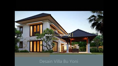 desain rumah villa minimalis desain rumah minimalis