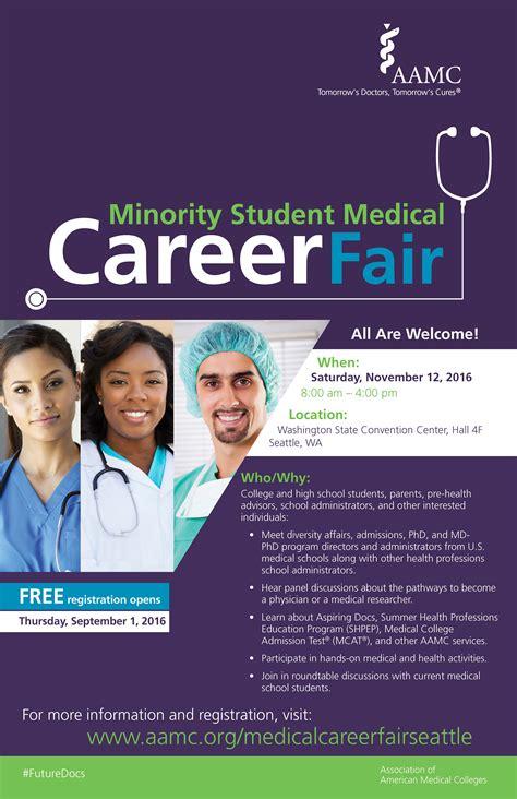 aamc career fair focuses  minority doctors