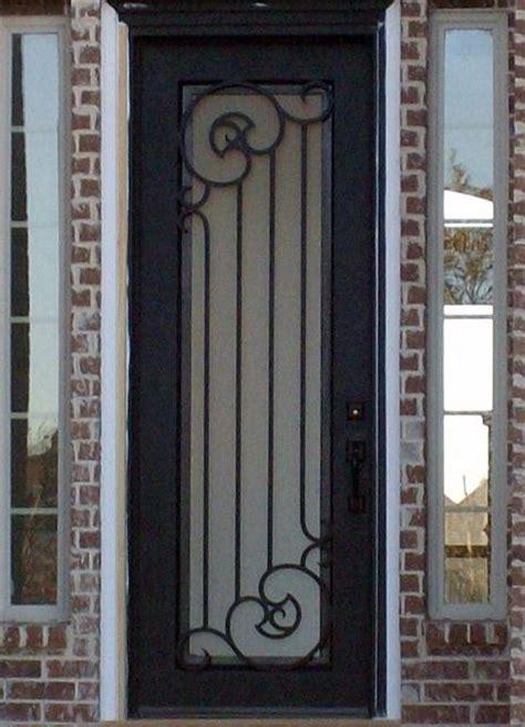porte dentre en fer forg porte en fer porte en acier design