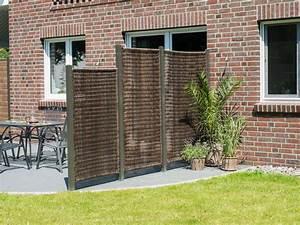 Sichtschutzwande sichtschutzzaun kunststoff for Terrassen sichtschutz kunststoff