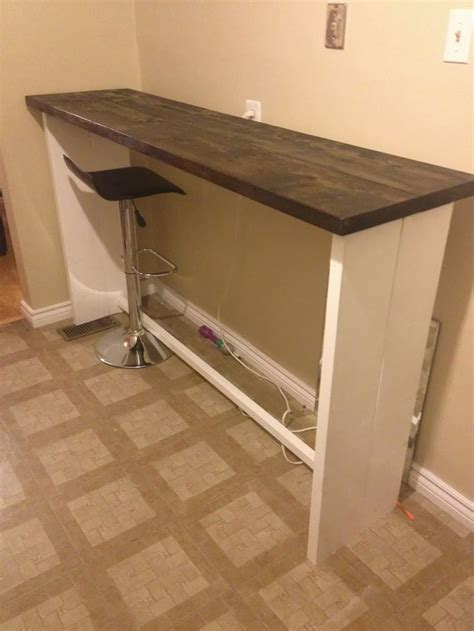 diy bar height table woodworking projects plans