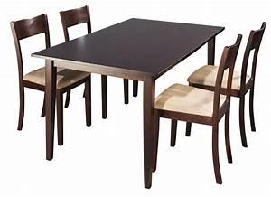Table Avec 4 Chaises : table avec chaise ~ Teatrodelosmanantiales.com Idées de Décoration
