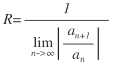 konvergenzradius summe von  bis unendlich nn