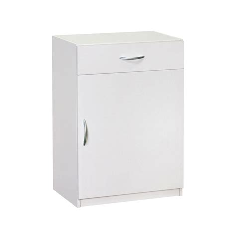 home storage cabinets with doors closetmaid 34 75 in h x 24 in w x 15 25 in d white