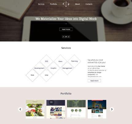 caracteristicas template 15 plantillas web nuevas gratuitas de template monster