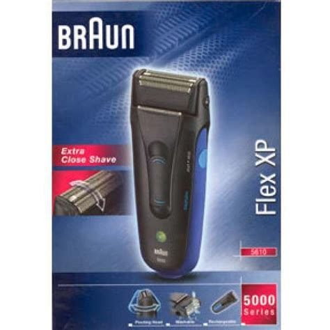 braun  flex xp mens electric shaver