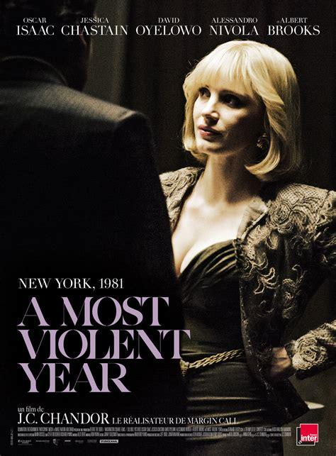 affiche du film   violent year affiche  sur