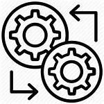 Integration Icon Data System Engineering Management Icons