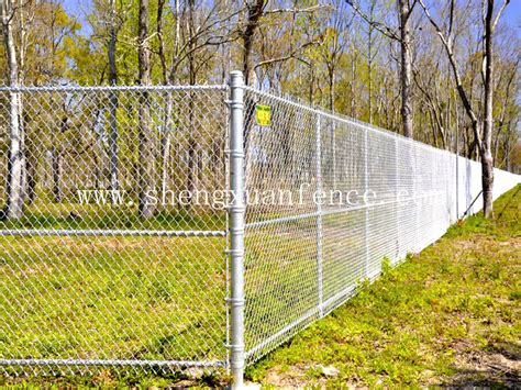 material for fences high quality residential chain link fence privacy fabric from anping shengxuan hardware mesh co
