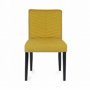 Chaise Tissu Design : chaise design tissu nora by drawer ~ Teatrodelosmanantiales.com Idées de Décoration
