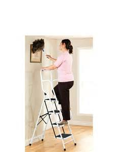4 Step Ladder with Safety Handles
