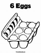 Milk Coloring Carton Egg Pages Printable Getcolorings Popular Colorings sketch template