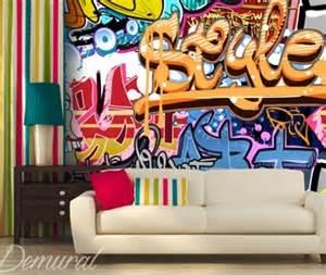 Papier Peint Tag by Graffiti Wall Murals And Photo Wallpapers Demural Uk