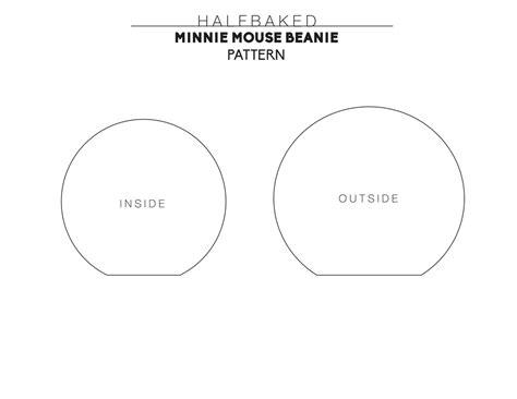 minnie mouse ears template printable printable minnie mouse ears template calendar templates