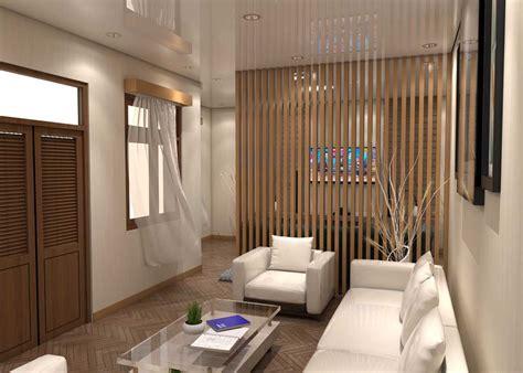 project renovasi living room   desain arsitek oleh