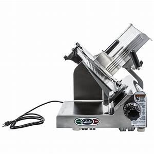Globe 3600n 13 U0026quot  Heavy Duty Manual Gravity Feed Slicer  2 Hp
