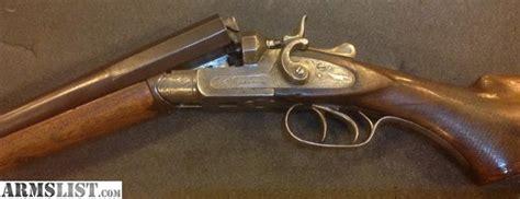 Armslist For Sale Antique Exposed Hammer Sxs 12ga Shotgun