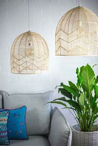 Woven Pendant Lights Stace King